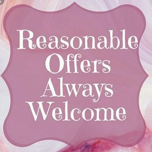 Other - I am happy to receive reasonable offers!